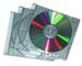 Fellowes 98352 Jewel Case Slim Custodia per CD, Confezione da 25 Pezzi, Trasparente/Metall...