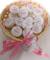 Todokraft- Cestino color rosa, oro o blu, con 25saponette personalizzate per matrimonio,...