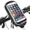 Supporto Bici Smartphone Impermeabile 360°Rotazione Supporto Manubrio Moto Smartphone con...
