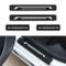 Per Megane Laguna Scenic Twingo Battitacco Soglia Porta Auto,Carbon Fiber Sticker adesivi...