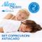 Allergosystem Set 2 Pezzi Copricuscino Antiacaro Nuvola, 100% Polipropilene, 50x80cm