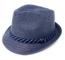 WEROR Trilby 428850 - Cappello da sole estivo, da ragazzo Blu Small