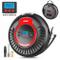 oasser Compressore Portatile per Auto Aria Mini Pompa Multifunzione P3 12V 2000mAh Gonfiat...