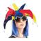 P'Tit Clown 91063 Cappello in Velluto, giullare del re, con sonagli, da Adulto, Multicolor...