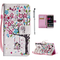Custodia Cover per Huawei P9 Lite Cover Pelle, Libro Portafoglio Elegante 3D Disegno Color...