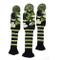 Copritesta per mazza da golf, colore verde mimetico, misura standard, in legno, per mazze...