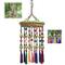 Campane tubolari Carillon a Vento con Nappine e Cesto di Frutta Ornamenti in Stile Cinese...