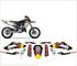 Kit adesivi decal stikers HUSQVARNA TC TE SMS SMR 125 TORO 2010 2013 (ability to customize...