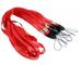 CKB Ltd 50 x Red Rojo Laccetto Portabadge Laccio da collo Laccetti Multiuso per PortaBadge...