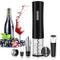 Rovtop Cavatappi Elettrico,Apribottiglie Cavatappi,vino,apribottiglie elettrico,Acciaio in...