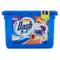 Dash Pods Allin1 Tocco di Lenor, Pods per Bucato, 15 Lavaggi, Pulizia a Basse Temperature...