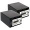 2x Batteria NP-FV120 (3300mAh) – sostituisce NP-FV100A – per Sony DEV-30, 50V. / HDR-CX740...