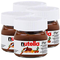 Nutella Ferrero piccolo mini design in vetro–Set da a 25G, pane aufstrich, Noce nugat C...