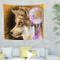 Indian Mandala Magic – Arazzo da parete Wolf Dream Catcher Wohnultur Tapisserie Tappeto da...