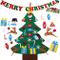 crazy bean Albero Natale Feltro Sentito L'Albero di Natale 3.3ft della Feltolta di DIY con...