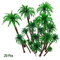 Hatisan-Pro Coconut Palm Model Trees/Scenery Model - Plastic Artificial Layout Rainforest...