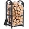 Amagabeli rack di legna da ardere con 4 strumenti 74 x 40 x 30cm grande capacità cremaglie...