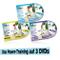 MiamiLife Unisex - Adulto Set Trampolino Training Dvd 1