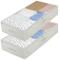 homyfort Set di 2 Pieghevole organizzatore Armadio, scatole Armadio in Tessuto, Contenitor...