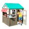 Kidkraft 419, Cottage Giocattolo da Esterni, Stile Caffè e Tenda, in Legno, per Bambini