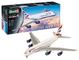 Revell-A380-800 British Airways Kit Aeromodello, Colore Bianco, RV03922