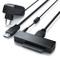 aplic - USB 3.0 a SATA Adattatore per Sata - SSD 2.5 Drive 3.5 Pollici con Alimentatore 12...