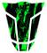 Paraserbatoio 3d 501788One & Only Monster Neon Verde–Protezione serbatoio universale ad...