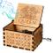 Funmo Carillon di Legno Tema di Queen, Scatole Musicali in Legno Intagliate a Mano e Intag...
