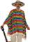 WIDMANN 9543X - Set Poncho con Sombrero, in Taglie Uniche