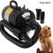 Speed - Asciugatore / soffiatore per pelo di animali / cani, potenza: 2400W, colore: nero