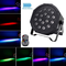 UKing 18 LED Par Luci Palco Con Batteria Ricaricabile Integrata,4 Pezzi RGB LED Luci DJ co...