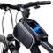 Lixada Bicicletta Borsa Manubrio Bicicletta Tubo Superiore Anteriore Pannier della Struttu...