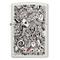 Zippo 60004352 Accendini, Ottone, Base Bianco Opaco, Unico
