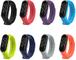 Cinturino Compatible with Xiaomi Mi Smart Band 5, Cinturino Sostitutivo in Silicone Cintur...