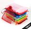 ABSOFINE 100 Pz Sacchetti Regalo in Organza 10x15cm Bustine Colorati Buste Favore Nozze Bo...