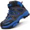 Scarpe da Escursionismo Stivali da Neve Scarpe da Trekking Unisex – Bambino(A Blu,34 EU)