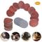 TUXI - Dischi abrasivi per levigatura, 100 pezzi, 50 mm, 5,1 cm, fogli abrasivi