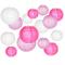 Lanterne di carta, Smaluck 15confezioni cinese rotonda lanterna di carta da appendere, co...