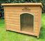 Kennels Imperial® Norfolk Cuccia Per Cani Canile Isolato Grande in Legno con Pavimento Rim...