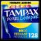 Tampax Pearl Compak Regolare 128 unidades