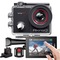 AKASO Action Cam 4K WiFi,Touch Screen,Telecomando,Angolo Variabile,Giroscopio Antitremore,...