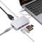 MINIX Neo-C-HGO-GEN2 USB-C Adattatore Multiport, Grigio