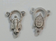 10 crociera Madonna Miracolosa per rosario l2 in zama cm 1.7