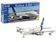 Revell- Airbus A380 Aeromodello in Kit da Costruire, Colore Bianco, 04218