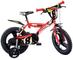 """Dino Bikes 143 GLN bicicletta 14"""" serie 23 con rotelle e doppio freno per bambini dai 4 ai..."""