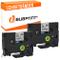 Bubprint 2 nastro a cassetta compatibile per Brother TZE231 TZ-231 e per P-Touch 900 1000...