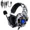 Cuffie Gaming per PS4, ONIKUMA Headset Gaming con Microfono Cancellazione del rumore, Cont...