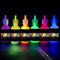 [6 x 28ml. ] iLC Vernice Fluorescente Colorato Neon Kit per Pelle Viso Corpo Colore UV Flu...