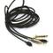 KetDirect - Cavo di ricambio per cuffie Sennheiser HD650, HD600, HD580 HD535, HD545, HD565...