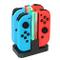 KINGTOP 4 in 1 Ricarica Joy-con per Nintendo Switch, Caricabatterie per Nintendo Switch co...